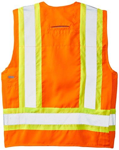Viking Surveyor Hi-Vis Safety Vest, Orange, XX-Large by Viking (Image #2)