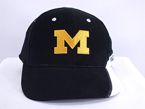 MICHIGAN WOLVERINES NCAA ADJ. VELCRO STRAP CAP BY HMI HEADWEAR (Hmi Head)