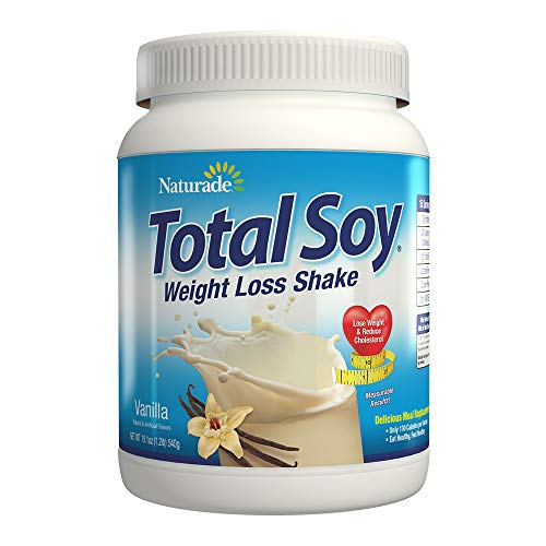 (Naturade Total Soy Weight Loss Shake- Vanilla - 19.1 oz (Natural & Artificial))