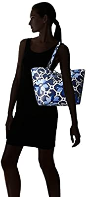 GUESS Bobbi Floral Inside Out Tote