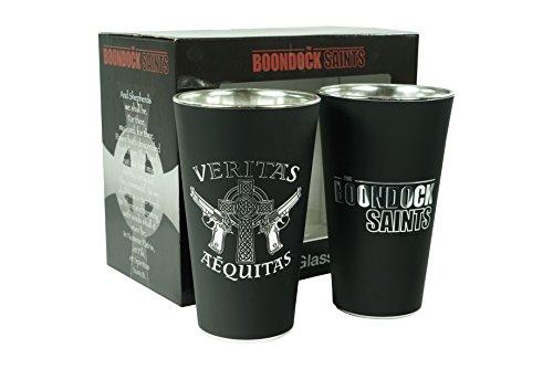 Boondock Saints Pint Glass Set (Set of 2)