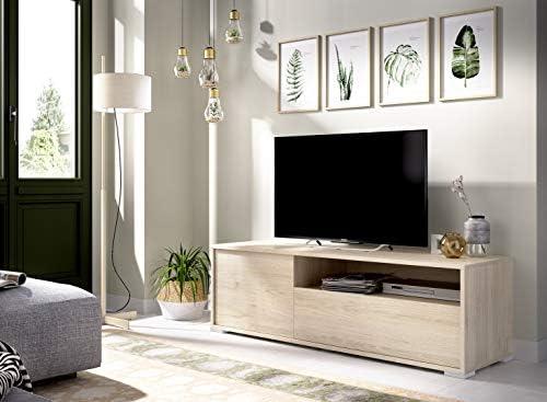 LIQUIDATODO ® - Mueble de tv de diseño nórdico 130 cm moderna y ...