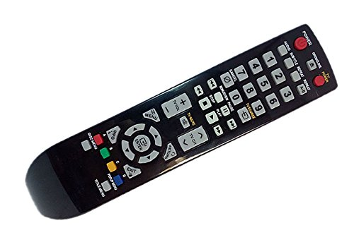 Replaced Remote Control Compatible for Samsung BDP1600/XEE BD-P4600/XEU BDP1600A/AFS BD-P1600A/XBG BDP1600A/XCH BD-P1600A/XTL BD Blu-Ray DVD Player Audio System