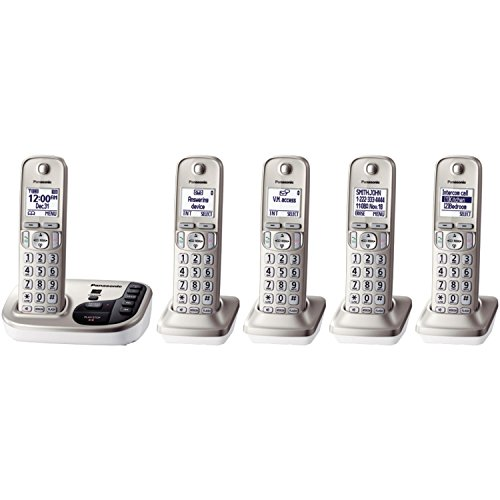 Panasonic KX TGD225N Expandable Cordless Answering