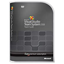 Microsoft Visual Studio Team Suite 2008 w/MSDN Premium