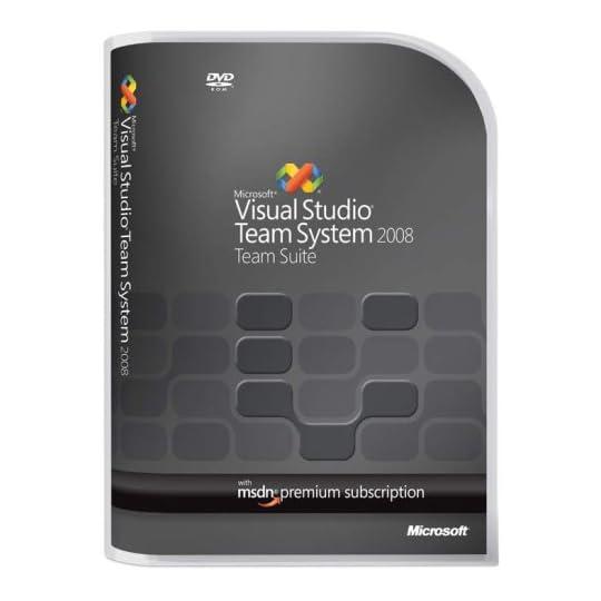 Microsoft Visual Studio Team System 2008 Team Suite Renewal Old Version