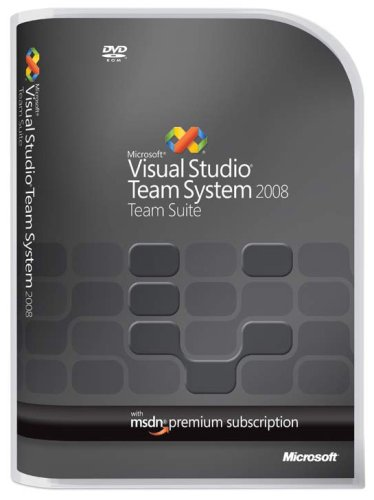 Microsoft Visual Studio Team System 2008 Team Suite Renewal [Old Version]
