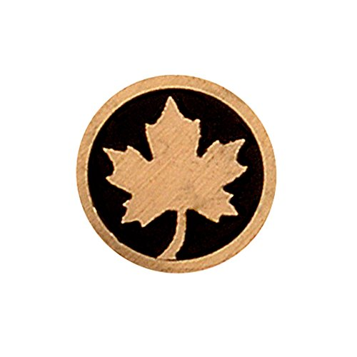 - Texas Knifemakers Supply 8mm Maple Leaf Mosaic Pin (4