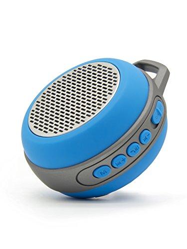 1 For Lg Iq  Expo  Expo  Gw820  Iq  Monaco  Pico Bluetooth Speaker More Bass   Hd Sound  Portable Keychain Chargable Sd Card Aux Fm Radio Microphone High Volume Blue