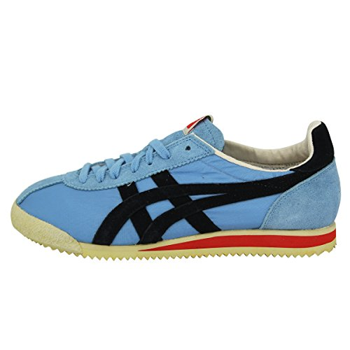 Asics TIGER CORSAIR VIN Blau Unisex Sneakers Schuhe Neu