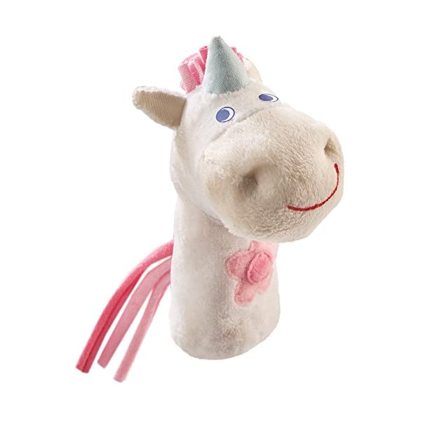 HABA Finger Puppet Mini Unicorn for Ages 18 Months and Up 3