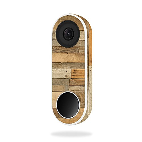 Price comparison product image MightySkins Skin Compatible with Nest Hello Video Doorbell - Reclaimed Wood / Protective,  Durable,  and Unique Vinyl Decal wrap Cover / Easy to Apply,  Remove,  and Change Styles / Made in The USA