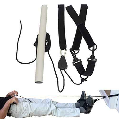 Vizeri Lumbar Lengthener Spinal Traction Decompression Stretcher Device for Back Pain ()