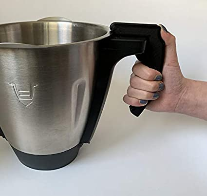 Compra 3DJunkies V3 - Mango desmontable para Lidl Monsieur Cuisine Connect (negro) en Amazon.es