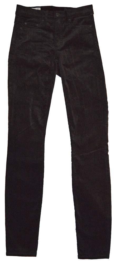 GAP Womens Black Modern Stretch True Skinny Finewale Corduroy Pants 24/00
