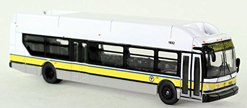 Iconic Replicas New Flyer Excelsior Model Bus Boston T Mbta Ho Scale 1 87 Scale Diecast