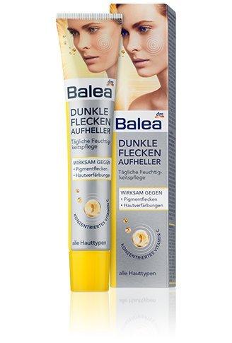 Balea Dark-spots Brightener with Belides Tm (A Highly Effective, Ecocert Botanical Skin-lightener) & Concentrated Vitamin C - 50ml ()