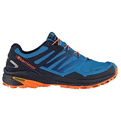 Karrimor Mens Sabre Trail Running Shoes Padded Ankle Collar
