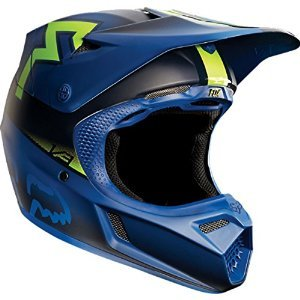 Fox Racing Franchise Men's V3 Motocross Motorcycle Helmet - Blue / Medium