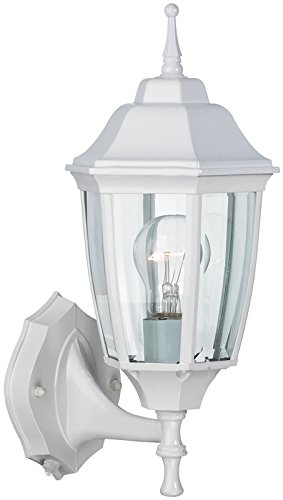 Boston Harbor DTDW Outdoor Lantern Dusk & Dawn - White