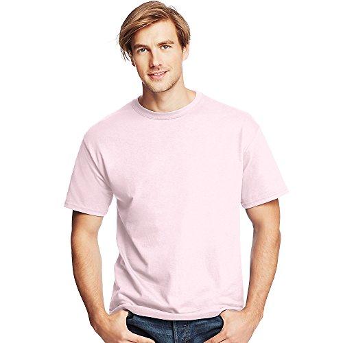 Hanes by Men's Tagless ComfortSoft Crewneck T-Shirt_Pale -