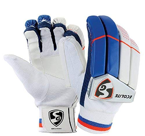 SG ecolite Adult cricket batting gloves (colour may vary) Price & Reviews