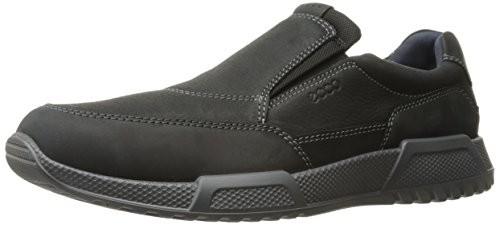 ECCO Men's Luca Slip On Loafer Slip-On Black, 46 EU/12-12.5 M US