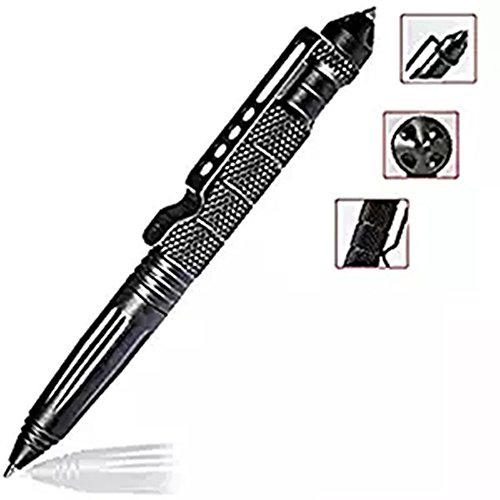 L.M.J.Aircraft Aluminum Defender Tactical Pen Military or Police Outdoor Survival Tool.