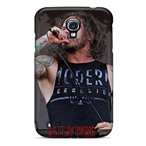 JasonPelletier Samsung Galaxy S4 Shock Absorption Hard Phone Cases Support Personal Customs Trendy Amorphis Band Pattern [vVX7556LJbG]