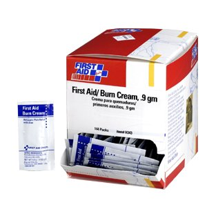 First Aid Only H343 First Aid Burn Cream, 144/box