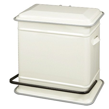 DULTON STEP CAN ''DUAL BUCKET'' Ivory DT-100-117IV from Japan by Dulton