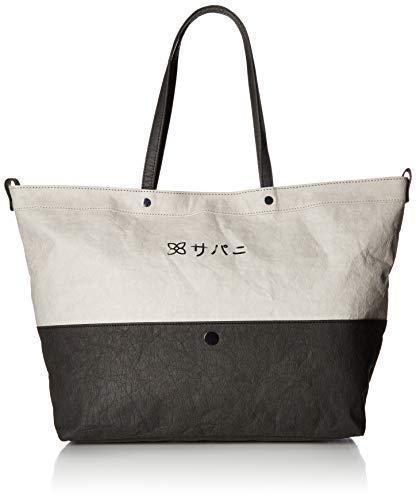 (Sherpani Mai Paper Leather Tote, Stone)