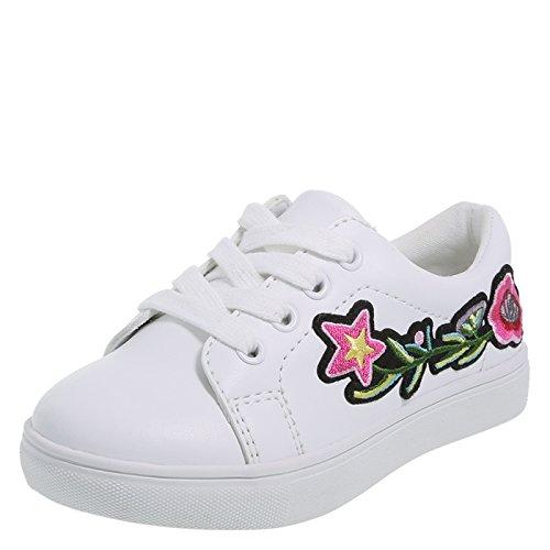 Pictures of Brash Girls' Toddler Bloom Court Shoe M 1