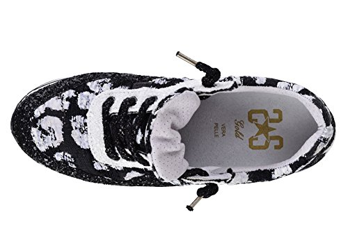 Shoes Bianche Da Sneaker 2star Gold Con Perline Donna 36 Nere 5xYvxqWw
