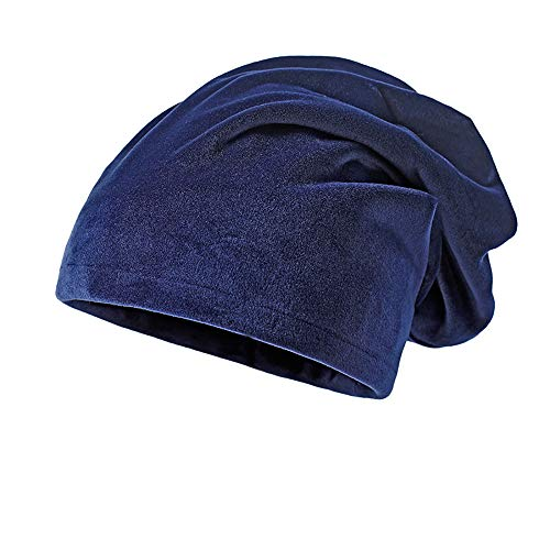 Cap Promotion,KIKOY Unisex Solid Color Warm Knit Thick Velvet Wrap Winter Hat