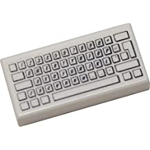 LEGO Bulk Parts: Tile 1 x 2 with Computer Keyboard Standard Pattern White (PACK OF 2)