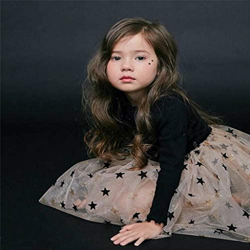 Mitlfuny Beb/é Princesa Tut/ú Vestido de Fiesta Verano Ropa Ni/ñas Pentagram Lentejuelas Tul Cosiendo Vestidos de Manga Larga Reci/én Nacido Bautizo Cumplea/ños Vestir Ni/ños 1-6 A/ños