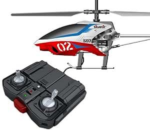 Silverlit 84597 - Nanocoptero Orion (air raiders, helicóptero radiocontrol, 3 canales, giróscopo, vuelo interior) - Surtido: diferentes colores o personajes