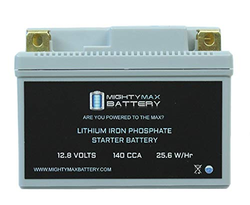 Mighty Max Battery YTX7L-BS Lithium Battery Replaces Kasea KS, KU Models 65CC All Years Brand Product ()