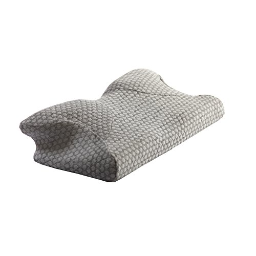 sharper-image-butterfly-pillow-gray