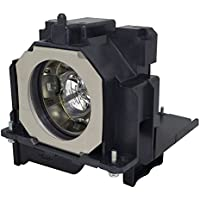 AuraBeam Economy Replacement Projector Lamp for Panasonic PT-EX510 With Housing