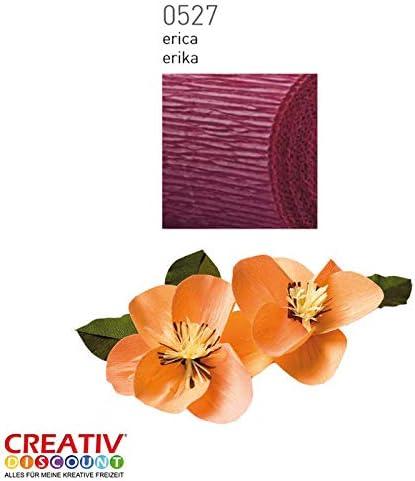 Erika CREATIV DISCOUNT/® NEU Floristen Krepp-Papier 50x250cm