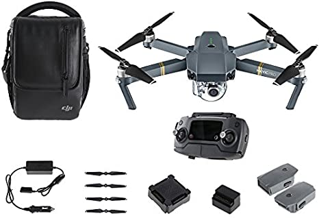 DJI Mavic Pro Fly More Combo - Dron cuadricóptero (4 k/30 fps ...