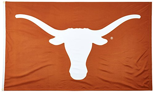 Wincraft NCAA University of Texas 02119115 Deluxe Flag, 3' x 5'