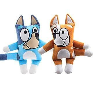 Moovi 2 PCS/Set Cartoon Bluey Dog Plush 11.8''(30cm) Figures
