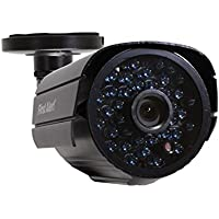 First Alert CM560 TVL Bullet Indoor/Outdoor Add-On Security Camera with Night Vision (Black)