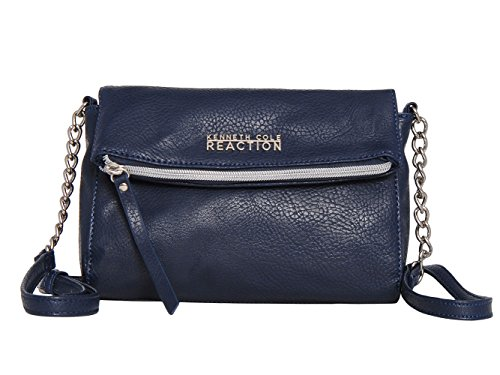 929fef2c6858 Kenneth Cole Reaction KN1523 JAZZ Mini Crossbody Messenger Bag (Navy Blue)  - Buy Online in Oman.