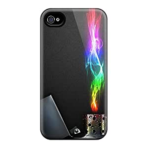 Hot OyO112mdMA Cases Covers Protector For Iphone 6- Colorful Flame