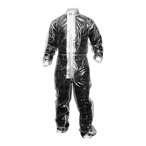 K1 RaceGear 10-CR1-CL-L 1-Piece Karting Rain Suit; Large (Clear) (Karting Rain Suit compare prices)