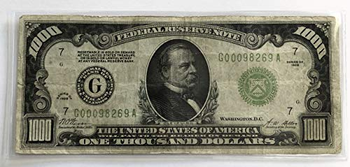 Dollar Federal Reserve Note - 8